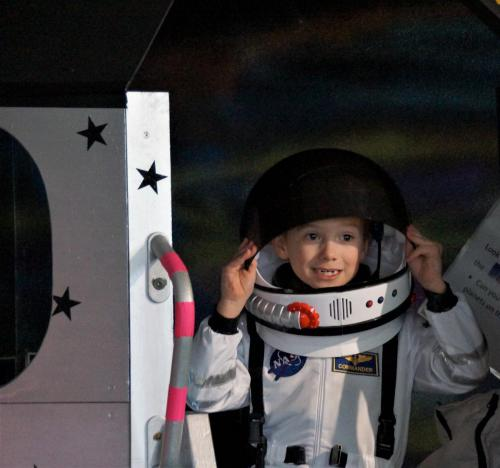 Become an astronaut and rocket off to the planets in Discovery Zone: Let's Go!