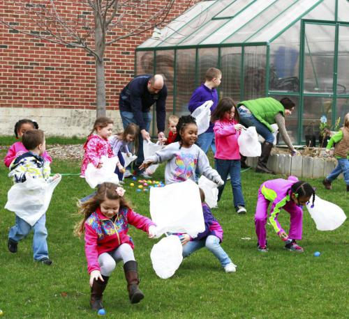 The FCM hosts an outdoor Egg Hunt in Sproutside every spring!